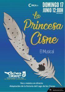 La Princesa Cisne, un cuento llevado a los escenarios hecho musical.