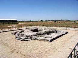 restos de finales del siglo IV d.C. sobre un Ninfeo