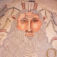 mosaicos y restos de edificaciones romanas