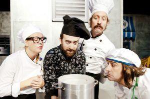 Chefs, una obra llena de humor donde un cocinero con poca inspiración hace lo que sea por no perder su estrella