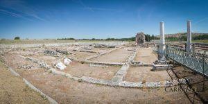 exposición permanente en el parque de Arqueología en Carranque