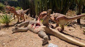 En DinoPark conoceremos qué especies se alimentaban de otras