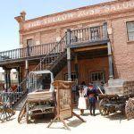 Sentirse como en el antiguo Oeste en el Fort Bravo/Texas Hollywood en Almería.
