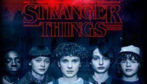 personajes de la serie Stranger Things,