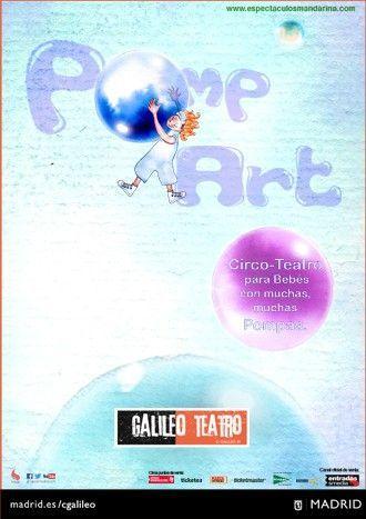 Pomp Art, el arte de las pompas llevado a los escenarios para los más pequeños
