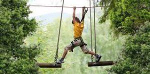 circuitos para niños dónde disfrutar solos o en compañía de sus padres, Aventura Amazonia ofrece un sin fin de actividades al aire libre