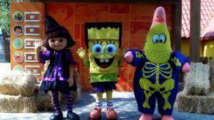días de miedo en Halloween con los amigos de Nickelodeon