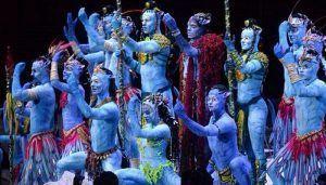 un nuevo espectáculo del Cirque du Soleil, un espectáculo cineasta