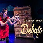 Pata Teatro y su nueva obra Debajo del Tejado en Málaga.