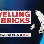 Exposición con piezas Lego en Travelling Bricks en Sevilla.