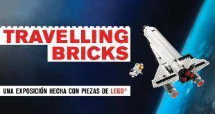 Exposición sobre los transportes a lo largo de la historia con piezas de Lego