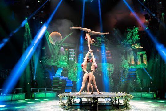 magia y espectáculo circense unidos en un espectáculo familiar