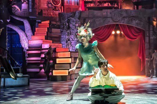 un mago unido a un espectáculo lleno de magia y fantasía