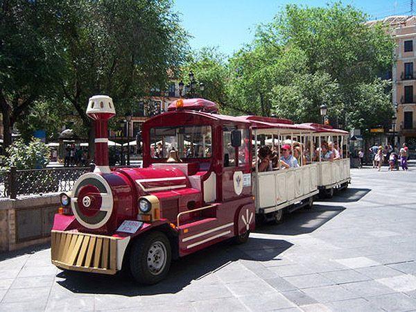 zocotrem, tren turístico que nos hará conocer la ciudad por diferentes puntos emblemáticos de la ciudad