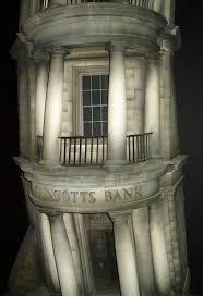 entrada al banco Gringotts