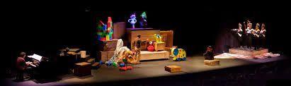 espectáculo musical con Etcétera teatro, dónde conocer el amor a través del juego y los juguetes