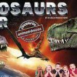Auténtico parque jurásico en Dinosaurs tour en Barcelona.