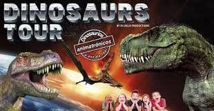 exposición de dinosaurios a tamaño real