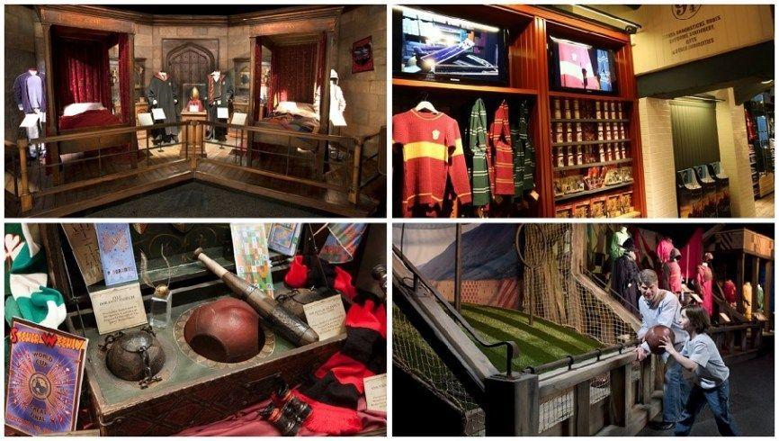 Tras Madrid, una nueva exposición en Valencia la saga Harry Potter, disfrutar de los escenarios, el atrezzo, vestuarios, lanzar una pelota, pasear por el comedor del colegio entre otras actividades