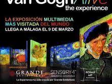 exposición itinerante del pintor Van Gogh, disfrutar de sus grandes obras