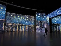 una forma diferente con alta tecnología para conocer a Van Gogh