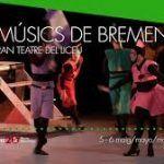 Cuento de los hermanos Grimm Els músics de Bremen, en Barcelona.