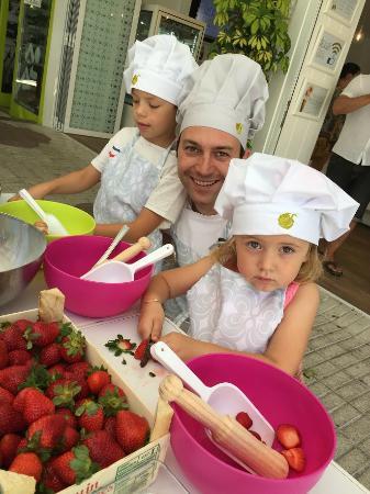 taller infantil dónde aprender los mejores trucos para la elaboración del mejor helado