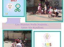 taller para aprender a montar en bici, para los más pequeños y todos los que quieran aprender a partir de 4 años