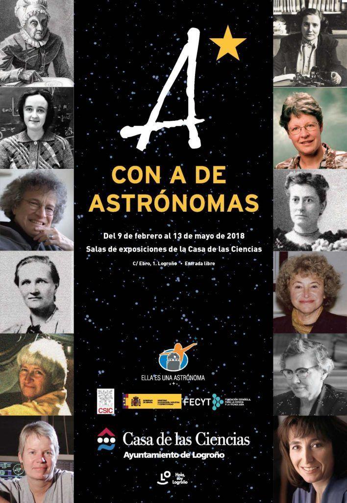 con A de Astrónomas, una exposición de una de las astrónomas más importantes de la historia