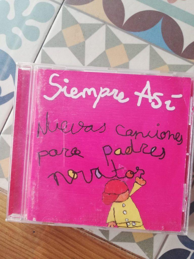 Nuevas canciones para padres, un nuevo disco en el que se basa la obra La Chispita de vivir