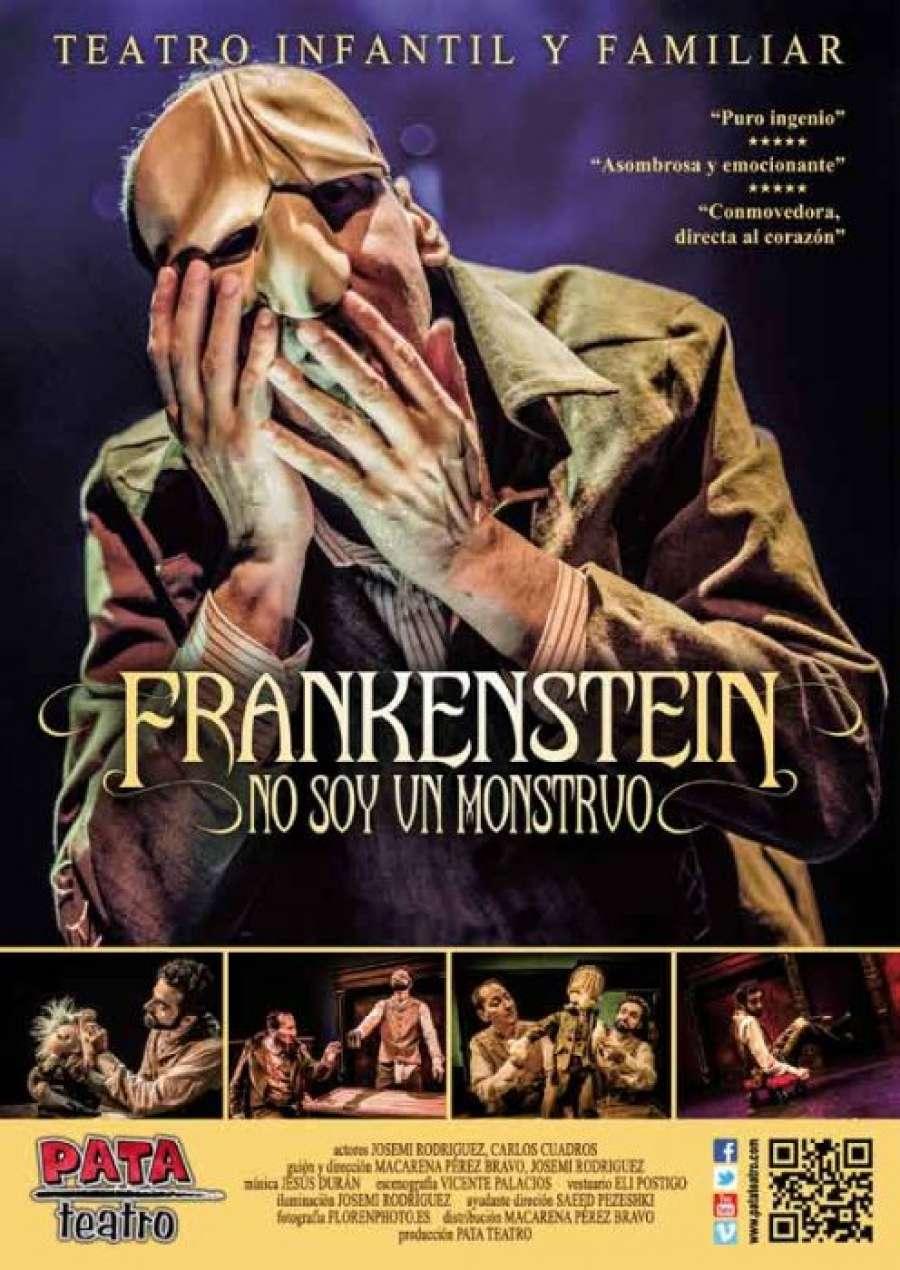 Frankenstein, no soy un monstruo, una adaptación divertida y tierna del clásico relato de un monstruo de terror