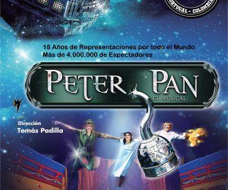 las aventuras de Peter Pan en un musical