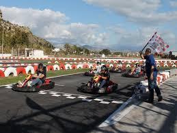 carreras de karting con podium y regalo