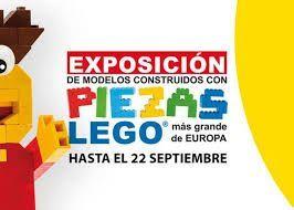 Exposición de Lego para toda la familia en Muelle Uno