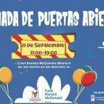 Jornada de puertas abiertas de Casa Ronald McDonald en Málaga.