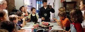 taller infantil de chocolate creativo dónde disfrutar en familia y poder llevarte a casa sus creaciones