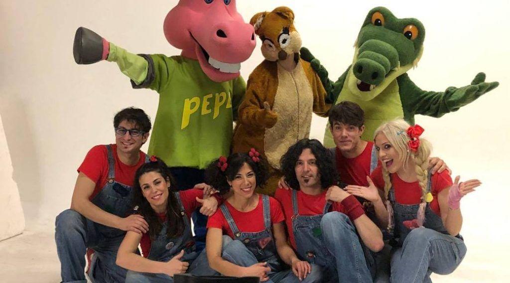nuevo espectáculo Cantajuego, con todos sus personajes y sus canciones infantiles