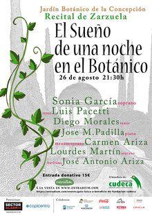 Gala benéfica Lírica y zarzuela, una gala para recaudar dinero para ayudar a la Fundación Cudeca