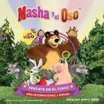 Espectáculo familiar lleno de aventuras con Masha y el Oso en Zaragoza.