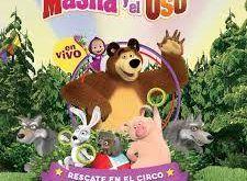 nuevo espectáculo en vivo de Masha y el oso