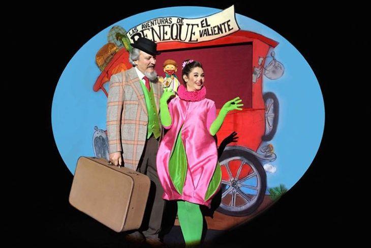 Peneque el Valiente, una compañía con más de 60 años de experiencia en el mundo del Teatro de Títeres