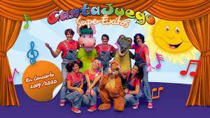 el grupo infantil Cantajuegos y SuperÉxitos se encuentra de gira como celebración de sus 15 años actuando