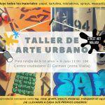 Taller de arte urbano para niñ@s, aprender y practicar técnicas en Málaga.