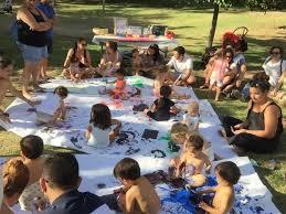 taller familiar con Mamis del Parque, dónde disfrutar y conocer de nuestros peques