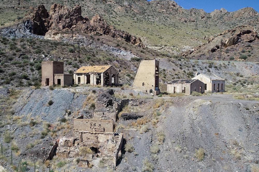 entrada a la mina, visita de la geoda