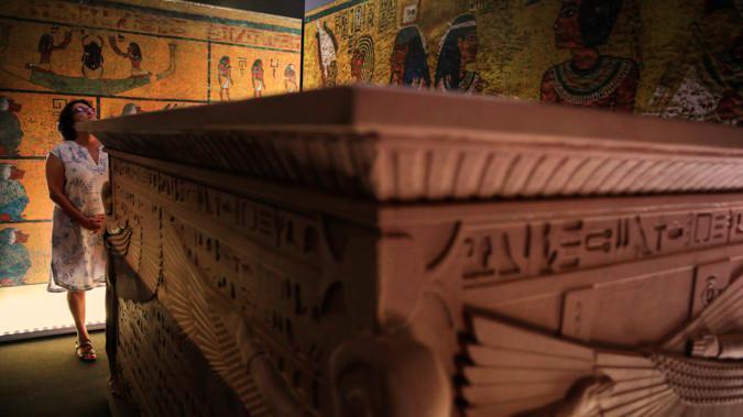 tumba de Tutankamón, gran descubrimiento en la exposición del antiguo Egipto