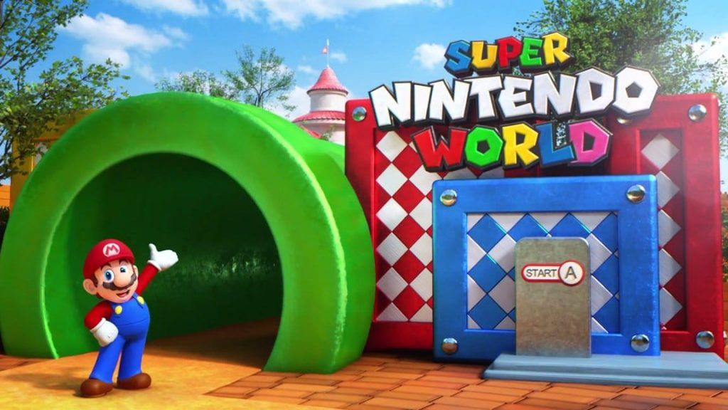 Parque temático Super Mario World, donde disfrutar del videojuego Super Mario