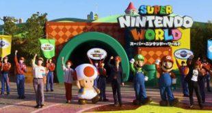disfrutar en familia del parque temático más conocido por todos Super Nintendo World