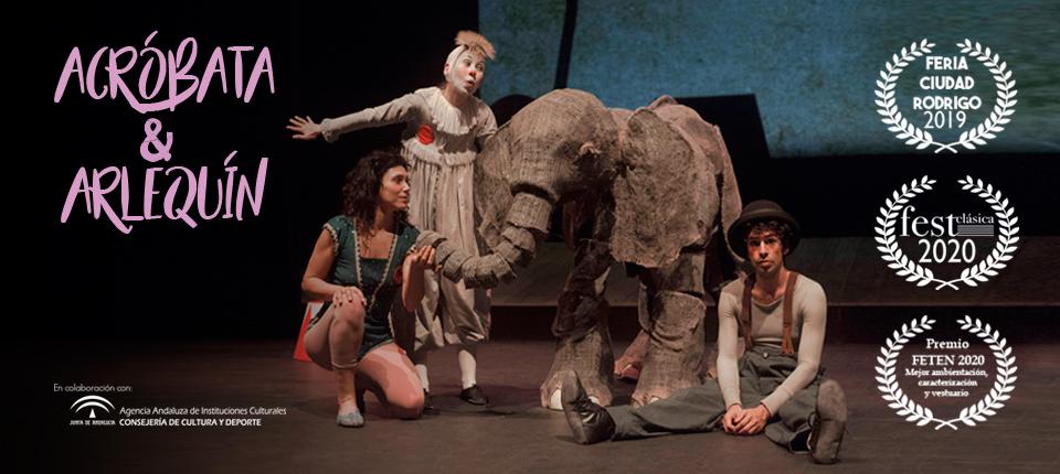 Disfrutar de una obra dónde se habla y se representa el mundo mágico del circo