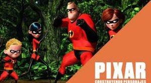 Descubrir cómo se llegó a crear los diferentes personajes de Pixar en una exposición